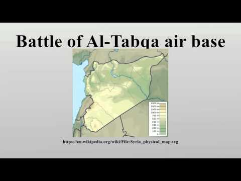 Battle of Al-Tabqa air base