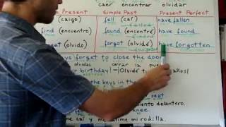 Curso de ingles 132 Verbos irregulares FALL FIND FORGET 2/2