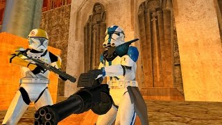 Star Wars Battlefront 2 Mods - Korriban Valley of the Dark Lords