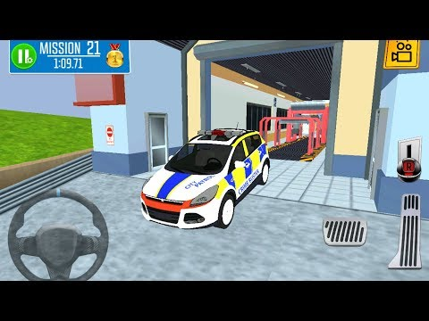 Multi Floor Police Car Garage Driver - Car Driving Simulator 3D - Android Gameplay