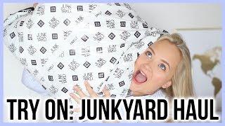 TRY ON: Junkyard haul
