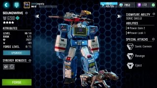 4 STAR SOUNDWAVE!! - Transformers: Forged to Fight