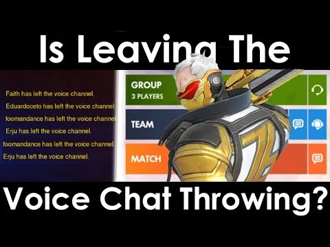 Is Leaving The Voice Chat Throwing?