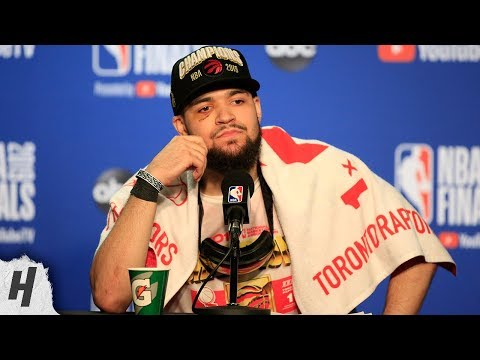 Fred VanVleet Postgame Interview - Game 6 | Raptors vs Warriors | 2019 NBA Finals