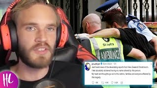 PewDiePie Reacts To Attack In Christchurch New Zealand Hollywoodlife