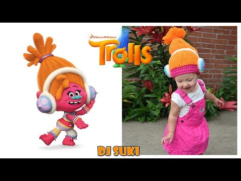 Trolls Movie Characters in Real Life