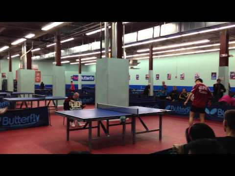 Bowen Chen vs Alex Ruichao Chen MDTTC Butterfly Cup April, 2014 Final