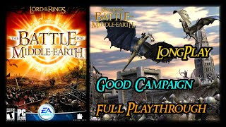 The Lord of the Rings: The Battle for Middle-Earth 1 - Longplay Good Campaign (No Commentary) (PC)