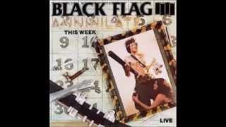 Black Flag - Annihilate This Week (1987) [FULL EP]