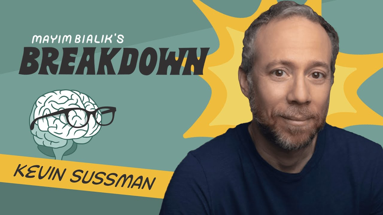 Download Kevin Sussman: Weighted Blankets, Actor Anxiety & the Science of Sobbing
