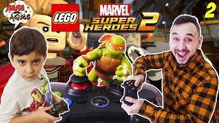 Папа Роб и Ярик играют в LEGO Marvel Super Heroes 2. Часть 2