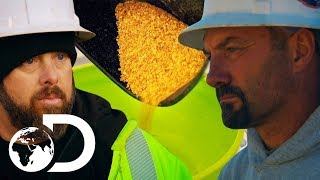 Dave Turin Threatens To Shut Down Plant! | Gold Rush: Dave Turin's Lost Mines