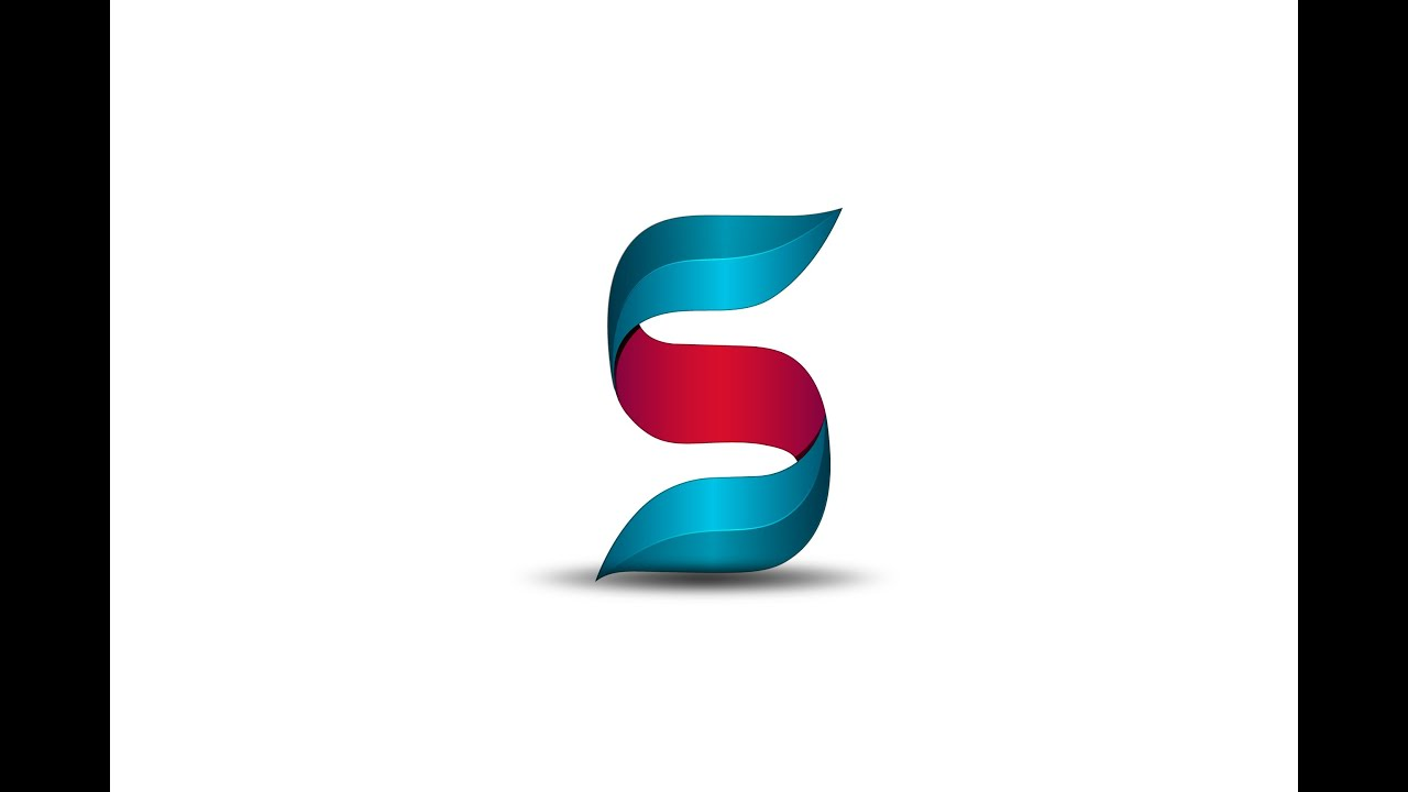 adobe illustrator cc 2015 new 3d logo design letter s