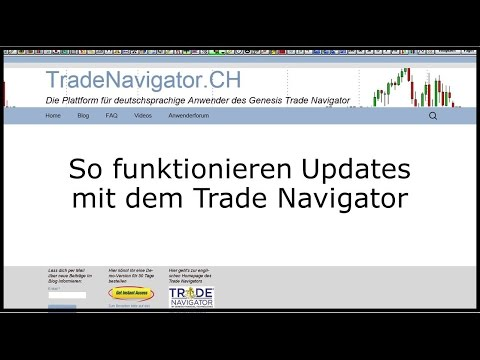 So funktionieren Updates für den Trade Navigator
