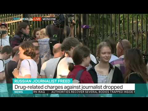 Russian journalist Ivan Golunov freed, case dropped