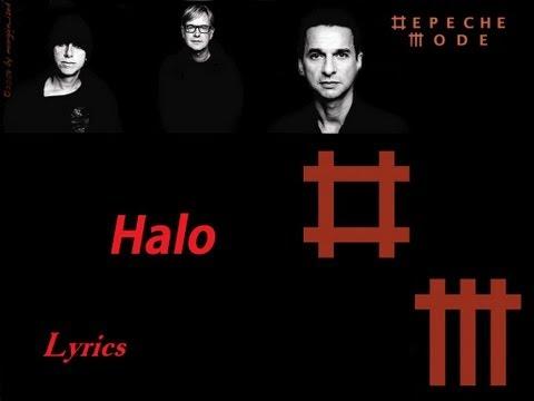 Depeche Mode - Halo - Lyrics HD