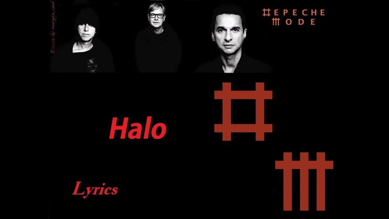 depeche mode halo lyrics