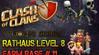 clash of clans Rathaus Level 8 Farm Base # 11