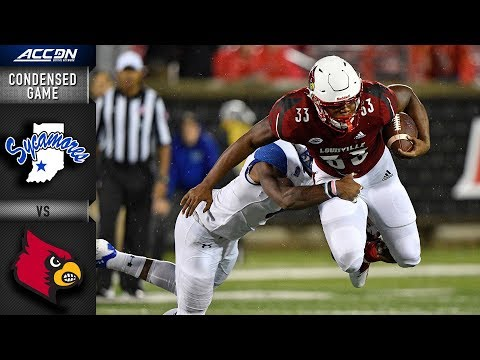 Indiana State vs. Louisville Condensed Game   2018 ACC Football