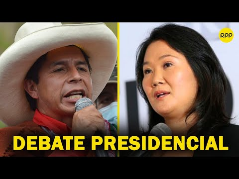 🇵🇪🤝 Perú: Así fue el PRIMER DEBATE presidencial entre Pedro Castillo y Keiko Fujimori (COMPLETO)