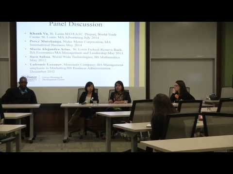 Alumni Panel - Internship and Job Search Strategies for Inte