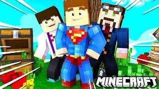 ZOSTAŁEM Z NIMI SAM NA WYSPIE... - Minecraft SkyBlock #1