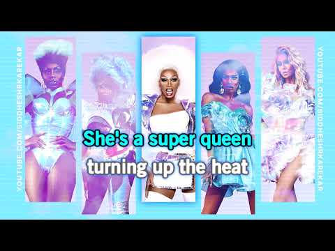RuPaul - Super Queen (AS4 Cast Version) [Instrumental] with Lyrics