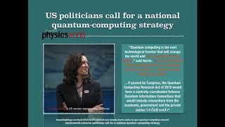 ข่าวไอทีควอนตัมโลก ๒๕๖๑ (ภาค ๒ นโยบายและมาตรฐาน) - Quantum IT 2018 Year News (#2)