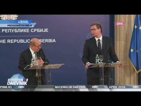Vučić: Srbija i Francuska istinski prijateljske zemlje