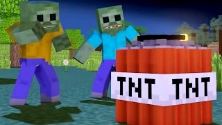 Funny Minecraft Animation For Kids Compilation