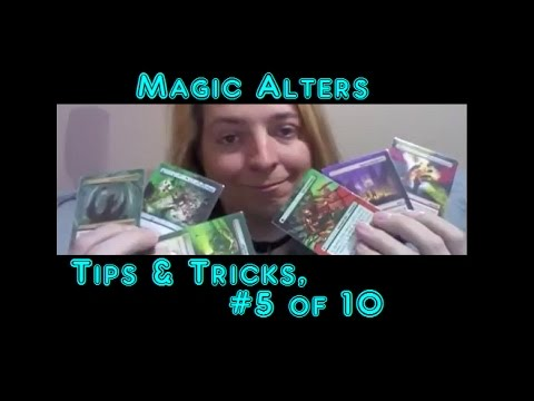 Magic Alters 05 Tips & Tricks, How to do clean alters, & removing paint. The toothpick trick!