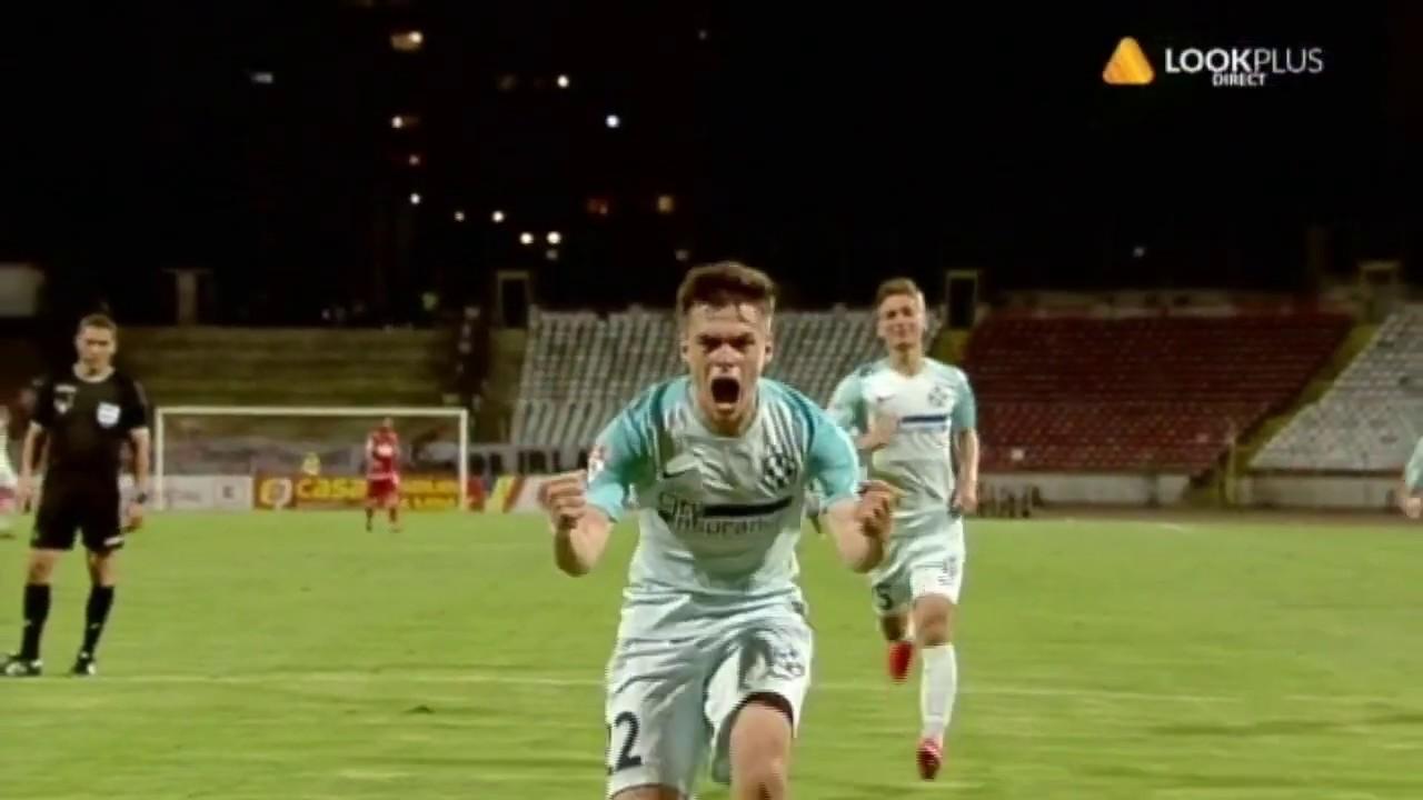 Dinamo - FCSB 0-3, gol  Cristi Dumitru (78) I  semifinala Cupa Romaniei, sezon 2019-2020