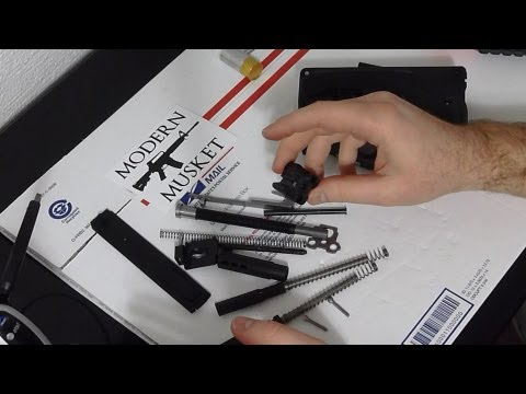 USFA ZiP 22 L.R. Pistol -- Disassembly & Assembly Process, plus notes.