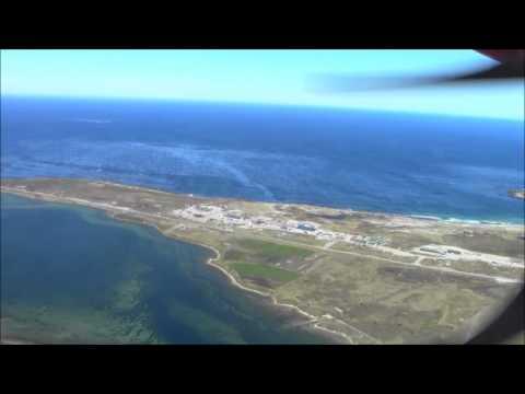 Falkland Islands - Stanley Airport FIGAS Landing