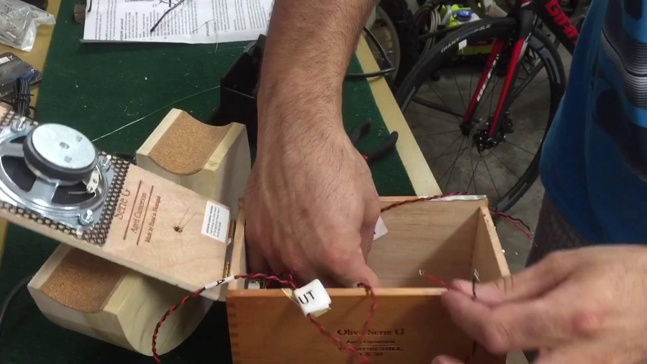 cigar box guitar amp build [ 1280 x 720 Pixel ]