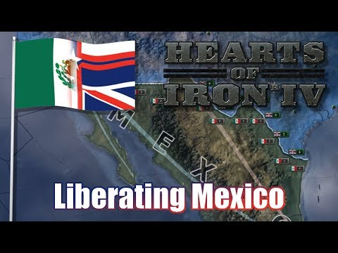 LIBERATING MEXICO! | Vooperian Empire #3 | Hearts of Iron 4