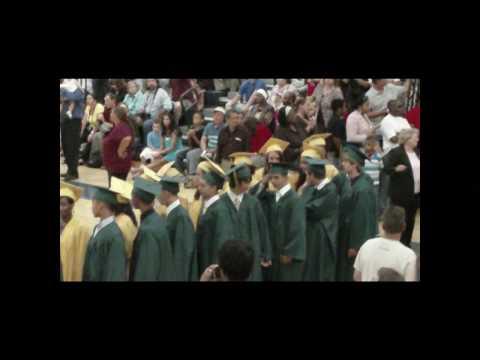 Ann A Mullen Middle School Graduation Procession Part 2