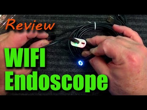 Gadget Review - WIFI Waterproof Endoscope Inspection Camera