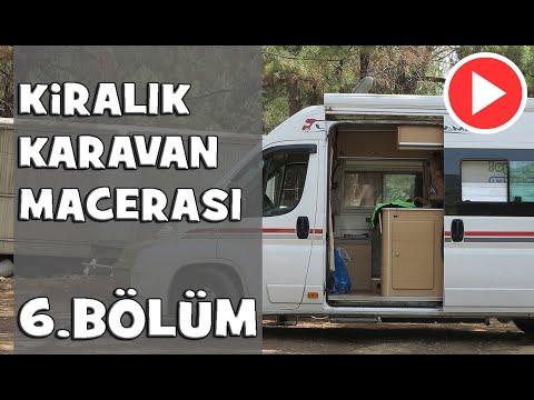 Kiralık Karavan Macerası-6 (Antalya - Adrasan)