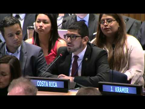 Exchanging ideas on development at ECOSOC Youth Forum