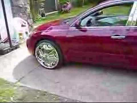 2008 Memphis Nissan Altima On 22 Dub Sploaters Floaters Youtube