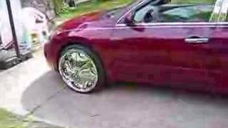 2008 Memphis Nissan Altima on 22 Dub Sploaters Floaters