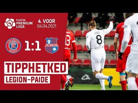 Legion Paide Linnameeskond Goals And Highlights