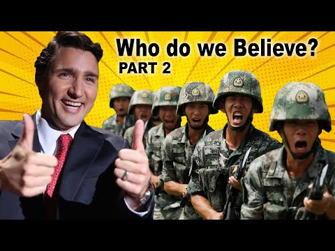 "Chinese Troops ""Training"" in Canada and the HUSH from the PM."