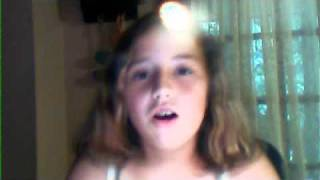 10 year old singing Your The Reason Why by Victoria Justice
