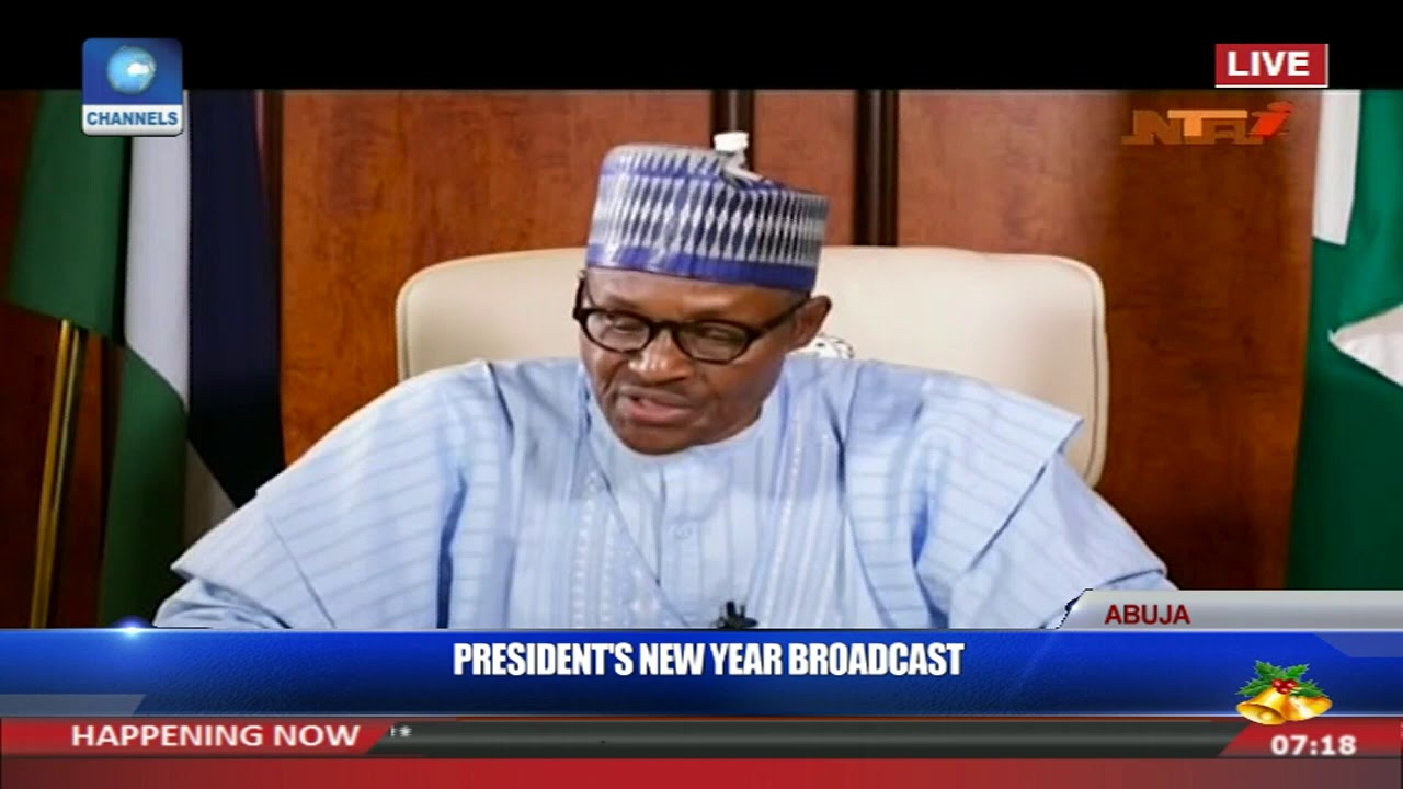 Full Video: President Buhari's New Year Address Pt.2