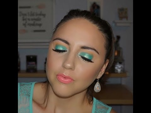 Ocean Inspired Makeup Tutorial  Brianna Mae