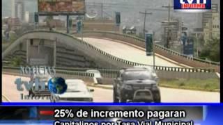 Jesus Enamorado presenta Capitalinos a pagar mas por matricula de vehiculos