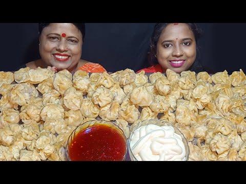 100 MOMO EATING CHALLENGE | 100 DUMPLINGS EATING CHALLENGE | EATING CHALLENGE| FOOD CHALLENGE VIDEOS