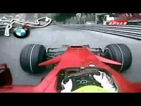 Felipe Massa Pole Position Lap Monaco 2008 Onboard [HD]